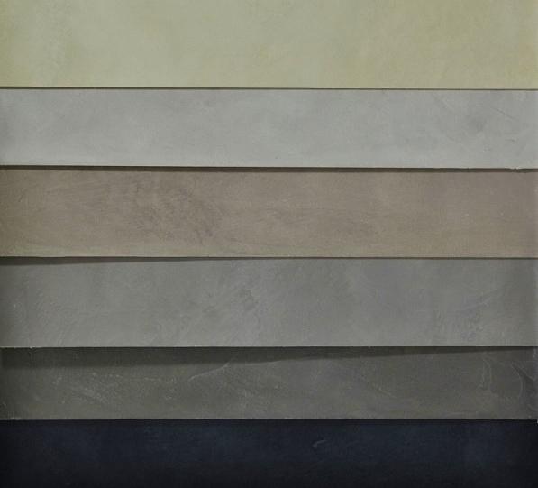 B ton cir bleu fonc turquin betoncire b ton cir et for Enduit effet beton cire pour plan de travail