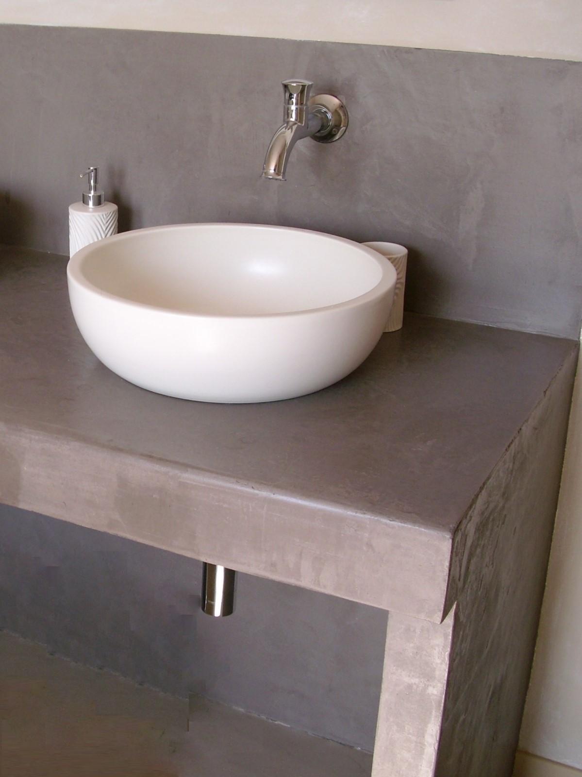 Meuble En Béton Ciré meuble de salle de bain beton cire | bright shadow online