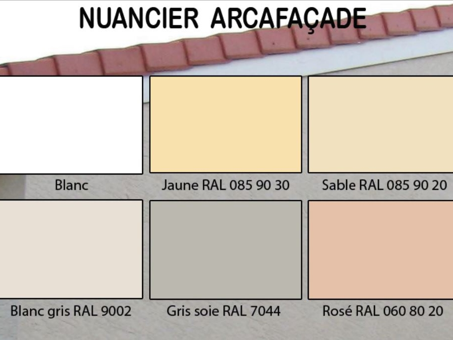 Nuancier couleur facade maison nuancier de couleur for Nuancier tollens facade