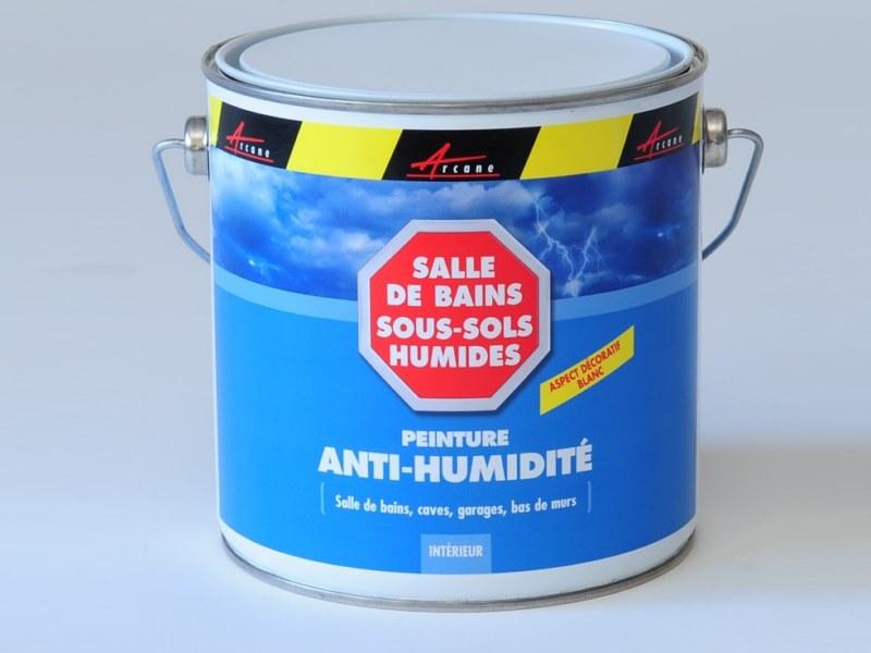 Test defficacité de la peinture antihumidité etancheite