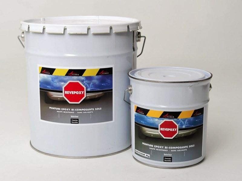 peinture epoxy sol revepoxy etancheite produits d. Black Bedroom Furniture Sets. Home Design Ideas