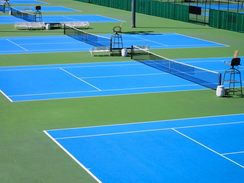 Peinture tennis et sols sportifs arcatennis etancheite for Longueur d un court de tennis