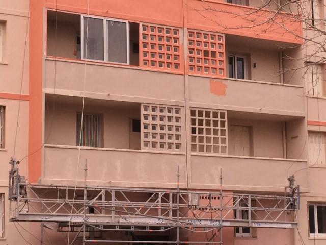 Peinture de protection et de d coration des fa ades for Peinture de facade