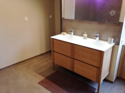 r alisation d 39 une douche italienne en b ton cir dans une salle de bain betoncire b ton cir et. Black Bedroom Furniture Sets. Home Design Ideas