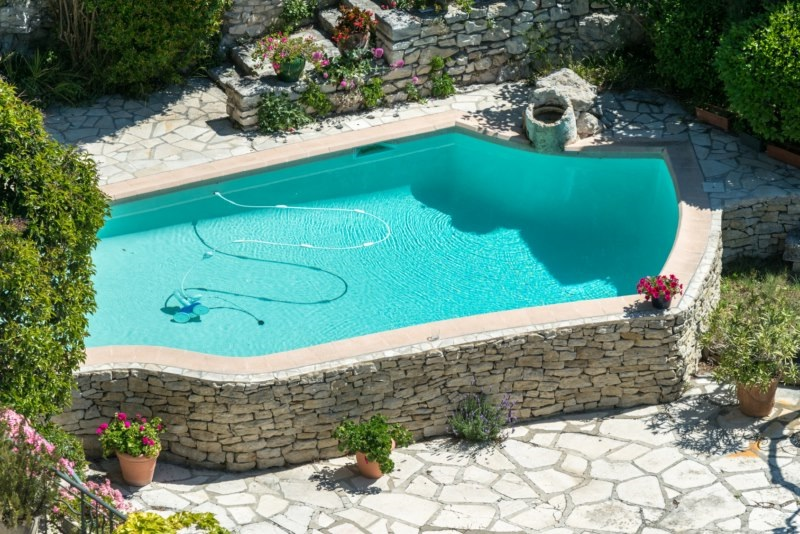 Produit d 39 tanch it des r servoirs citernes et piscines for Construction piscine hors sol en beton
