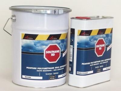 Peinture antid rapante pour sols glissants solthane rd betoncire b ton cir et d coration for Peinture exterieure beton