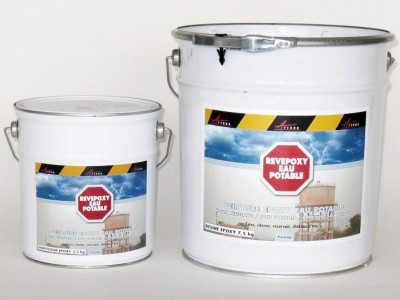 Peinture epoxy pour r servoir d 39 eau potable revepoxy ep solvants d graissants nettoyants for Peinture pour sanitaire