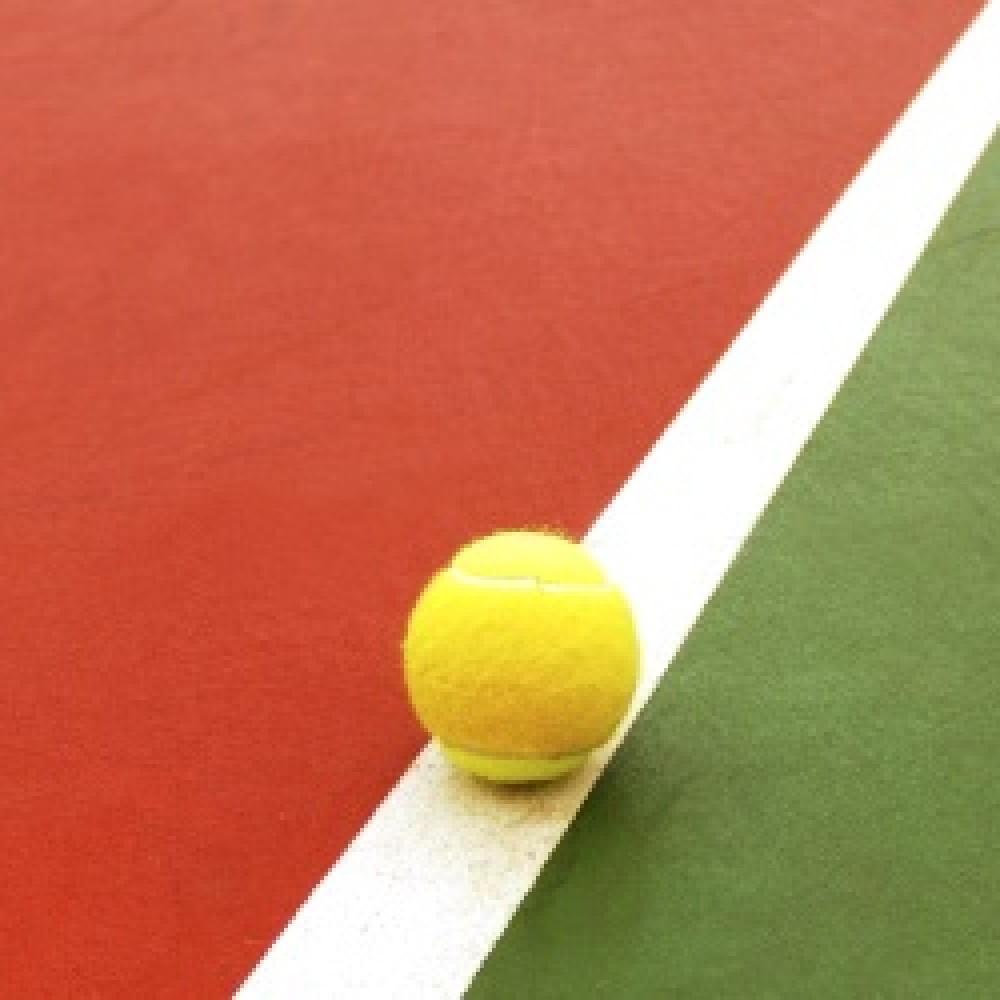 Peinture pour ligne de court de tennis arcatennis - Peinture pour sol carrele ...