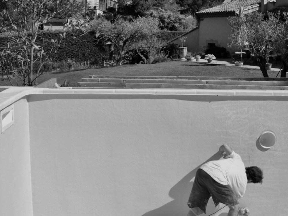 Repeindre une piscine en b ton nice etancheite produits for Piscine nice